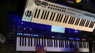 Cover images Abba One of Us COVER by Albert on Yamaha Genos