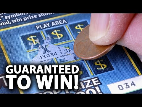 How To WIN THE LOTTERY - Guaranteed!
