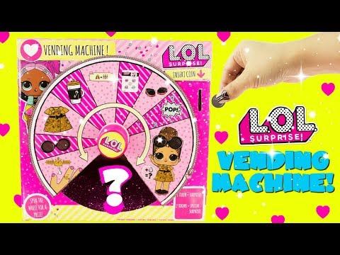 LOL SURPRISE VENDING MACHINE Toy Surprises Fun