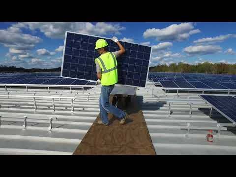 Yes Solar Solutions, Replacements, Ltd. 1.32 MW Solar System