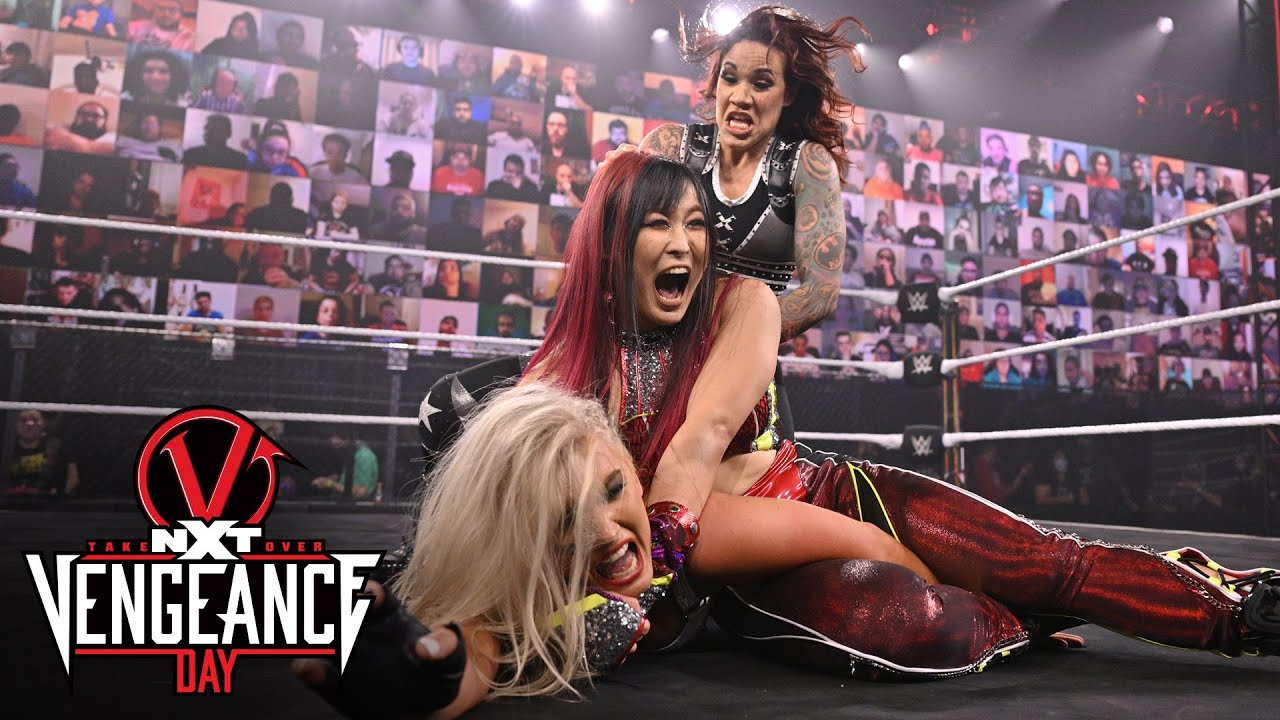 Women's Match at Takeover Vengeance Day Went Short
