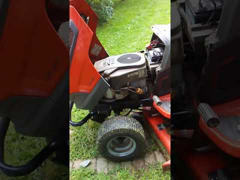 Husqvarna LGT 2654 lawn mower Won't stay running HELP!
