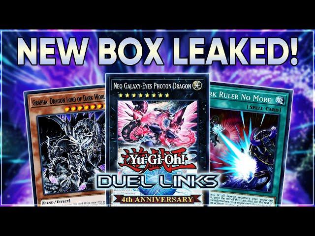 HUGE LEAKS! NEW BOX ETERNAL STREAM! FIRE FIST! GRAPHA! GALAXY-EYES & MORE! | Yu-Gi-Oh! Duel Links