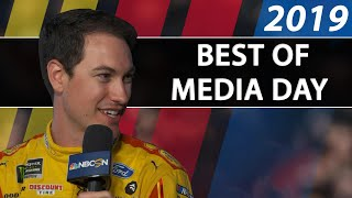 Best of Daytona 500 Media Day 2019 | Motorsports on NBC