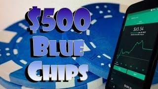 Robinhood APP - $500 New Investor BLUE CHIP Stock Portfolio!