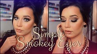 Simple Smokey Eyes | UD Naked Basics 2! | Talk Through Tutorial!
