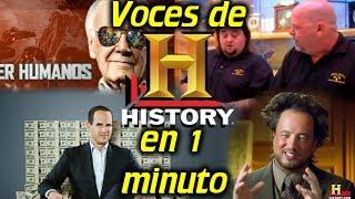 Video Voces de HISTORY CHANNEL en 1 minuto  #05 download MP3, 3GP, MP4, WEBM, AVI, FLV Oktober 2018