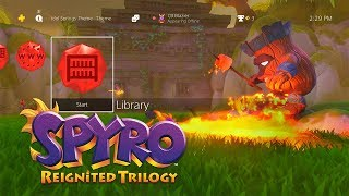 Spyro Reignited Trilogy - PS4 World of Spyro Theme Bundle Preorder