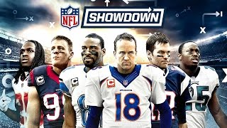 Nfl showdown by zynga inc. (ios / android)play football with your friends every day in showdown! the new team manager game is now available on mo...