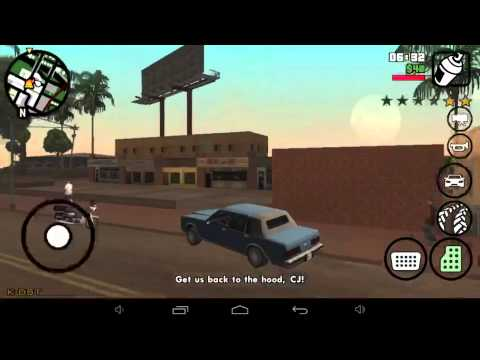 GTA San Andreas vs Китайский планшет.