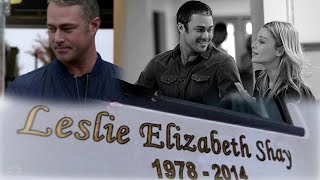 """Leslie Shay • """"She was a part of the DNA of this firehouse"""" ~Severide [+9x02]"""