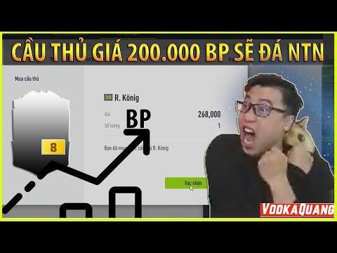 Vodka Quang | Cầu thủ trị giá 200.000BP sẽ có giá trị như thế nào trong FIFA 4?