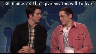 snl moments that give me the will to live
