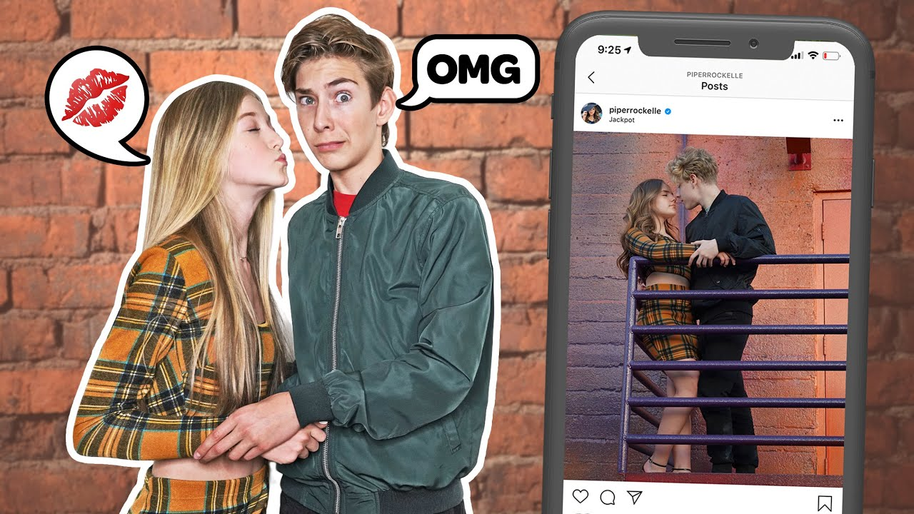 Recreating Famous TIKTOK COUPLES Photos Challenge **WHO'S THE BETTER COUPLE** ❤️📷| Sawyer Sharbino