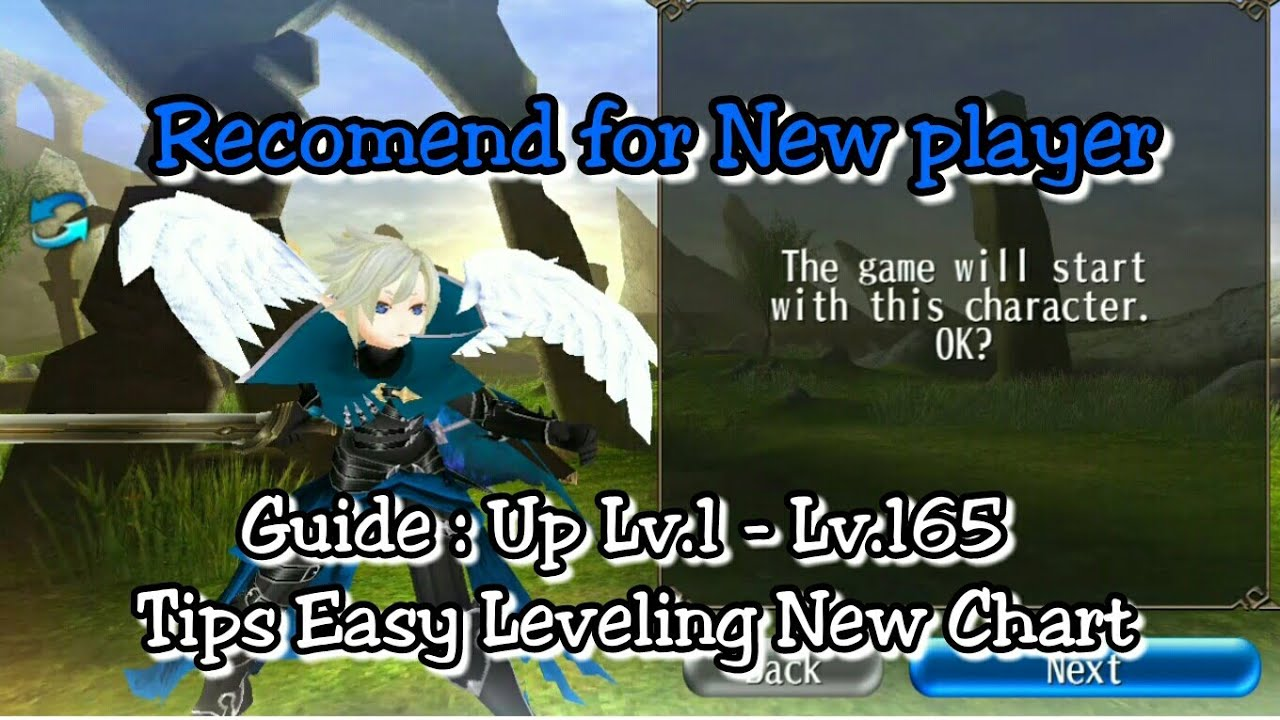 Toram Online - Guide : Easy Leveling 1 - 165 (List Leveling)