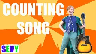 Counting Song ENGLISH Learn Numbers for Kids | Music with Sevy