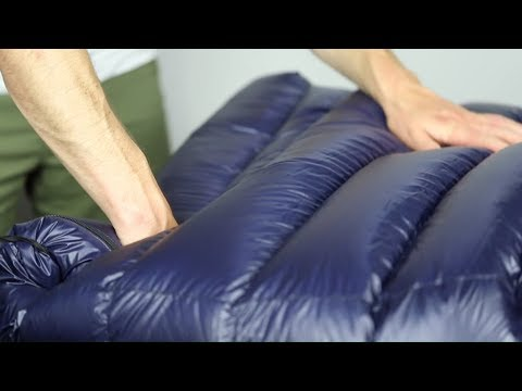 2ae4b577d8a Gear Review  Western Mountaineering Megalite 30° Sleeping Bag - YouTube
