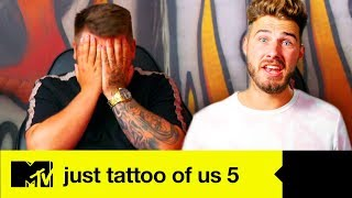 EP #3: Jake Has A Big Stick Or Twist Decision To Make | Just Tattoo Of Us 5