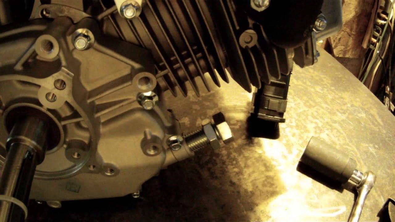 Modify 420cc Engine For Torque Converter