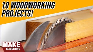 10 Woodworking Projects You Can Make For Christmas!