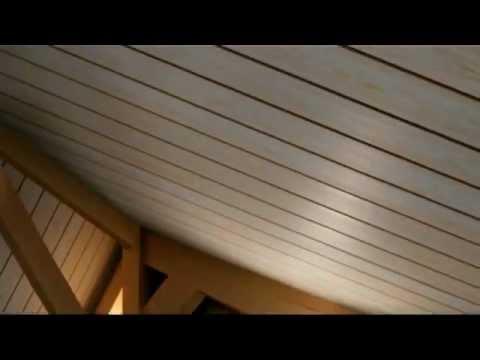 Rinnovare un soffitto youtube for Rivestimento perline legno bianco