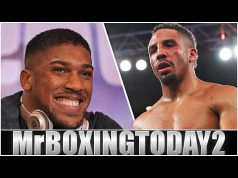 Anthony Joshua vs Andre Ward Who Wins This Fight?