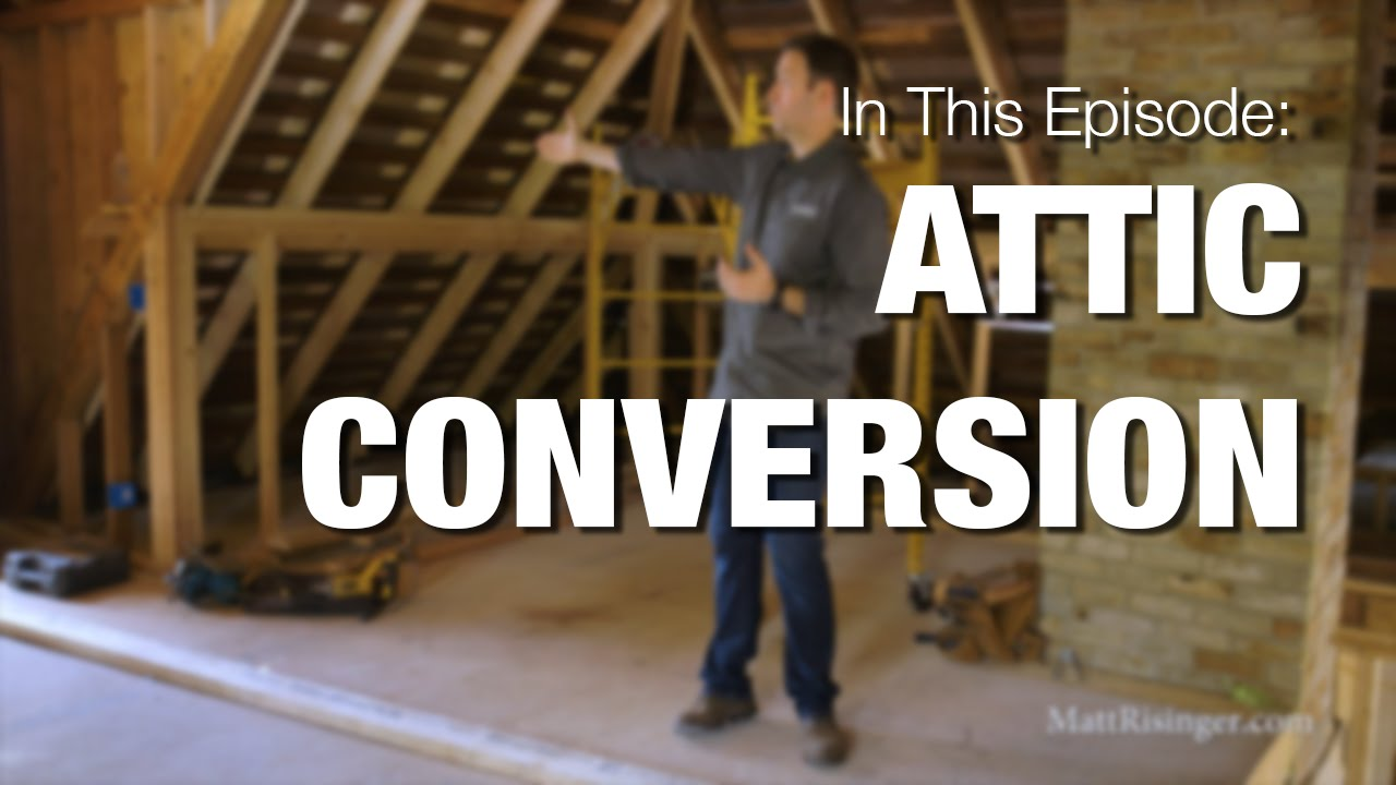 Converting An Attic To A Bedroom West Tenth Update Youtube
