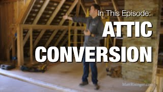 Converting An Attic to a Bedroom - West Tenth update