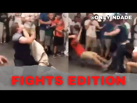 University of Miami vs Notre Dame Fan Fight