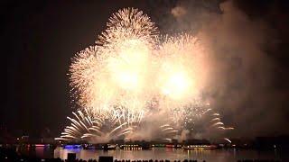 【全編720p】東京花火大祭2018  EDOMODE   Tokyo Fireworks Festival