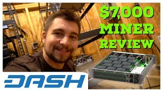 $7,000 Miner Review | Spondoolies SPx36 X11 DASH Miner | Best Dash Miner EVER!
