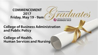 CSUDH 2017 (9AM) Commencement Ceremony