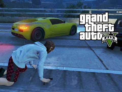 GTA 5 Online Squeaker Squad 5 - A Wild Squeaker Appears