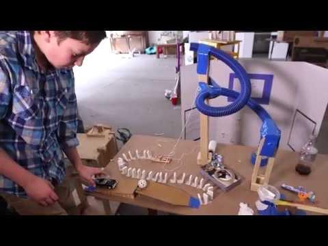 Mountain Phoenix Community School \\ Rube Goldberg Projects