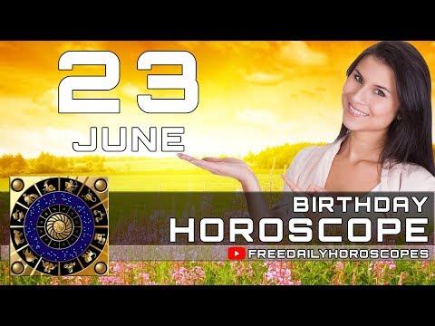June 23 - Birthday Horoscope Personality