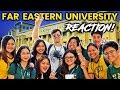 Foreigner Reacts to FAR EASTERN UNIVERSITY (FEU)! Filipino University Tour!