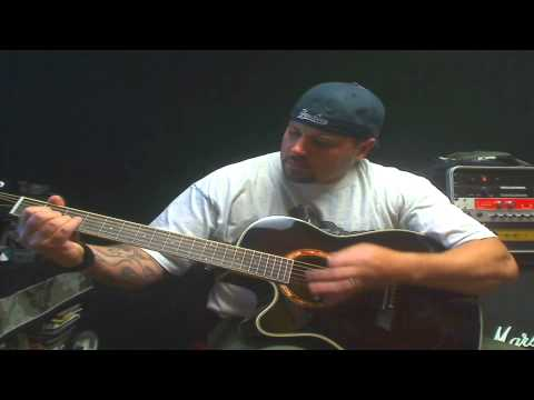 Here is Jason strumming on some cool chords!