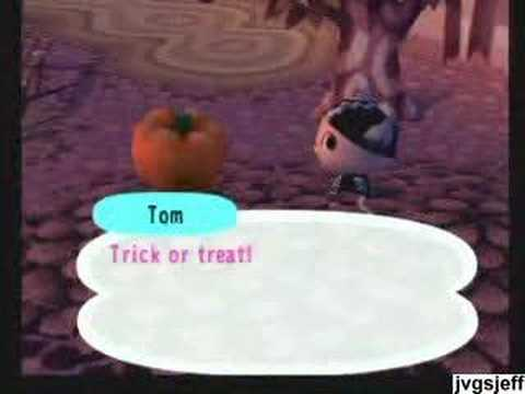 animal crossing halloween youtube - Halloween Animal Crossing City Folk