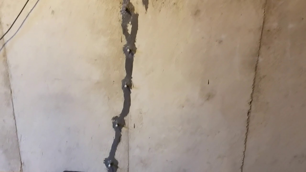 Epoxy Injection Epoxy Injection Basement Crack Repair