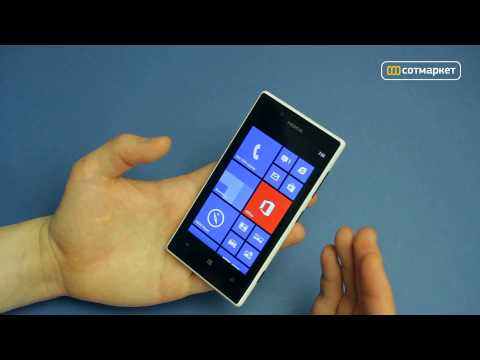 Видео обзор Nokia Lumia 720 от Сотмаркета