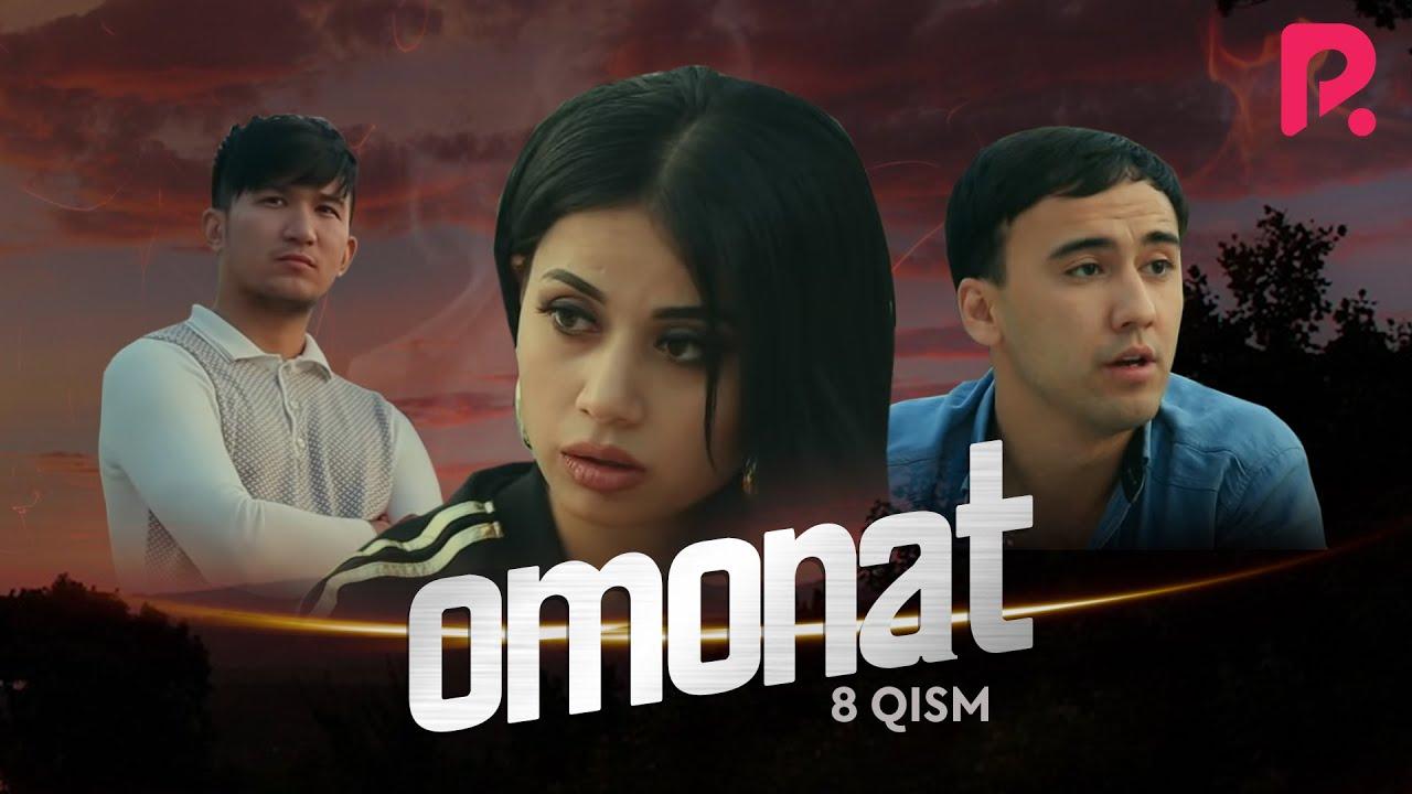 Omonat (o'zbek serial) | Омонат (узбек сериал) 8-qism #UydaQoling