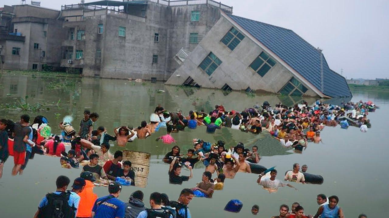 Китай тонет Что происходит с климатом в мире События 22 ИЮЛЯ 2021  Изменение климата катаклизмы
