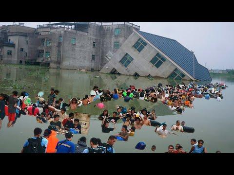 Китай тонет! Что происходит с климатом в мире? События 22 ИЮЛЯ 2021 | Изменение климата, катаклизмы