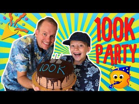 PARTY TIME! 100K Cake Celebration!