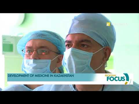 Development of medicine in Kazakhstan