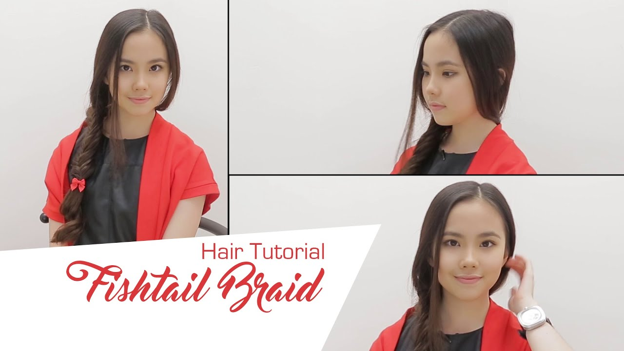 Fishtail Braid Easy Easy Tutorial From Me.