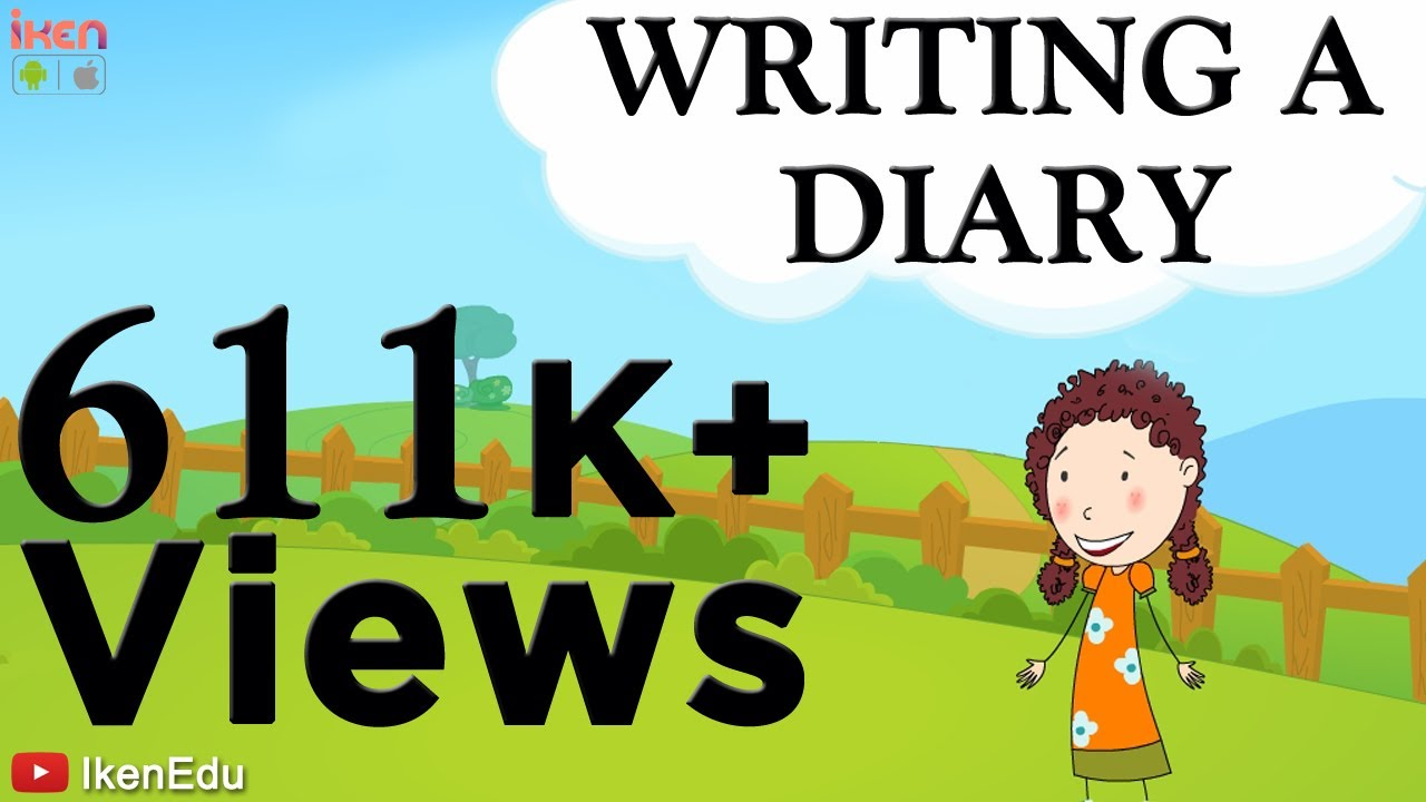 learn english writing writing a diary  youtube learn english writing writing a diary
