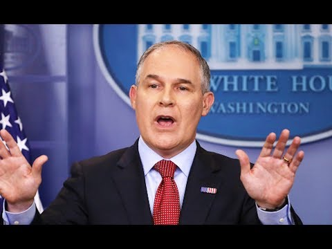 EPA Head Travels World Spreading Joy Of Fracking