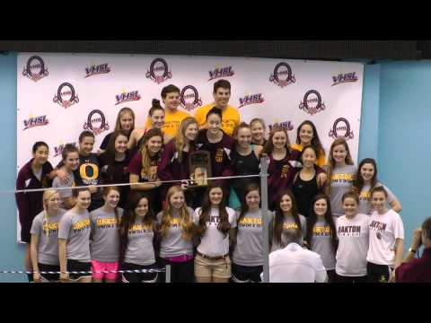 2014 Oakton High School Girls Capture Virginia 6A State Swim Title