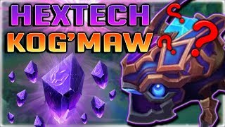 NEW GEMSTONE SKIN?! HEXTECH KOG'MAW IS BEAUTIFUL!! LETHAL TEMPO KOG'MAW GAMEPLAY - PBE